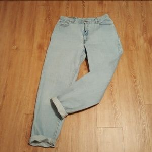 VINTAGE Levis style 550 high waisted mom jeans